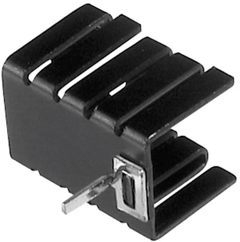 Zásuvný chladič Assmann WSW V8508C pro TO 220, 19 x 12,8 x 12,7 mm, 21 K/W