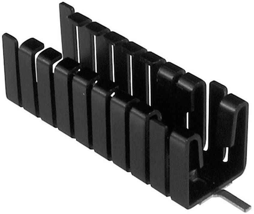 Zásuvný chladič Assmann WSW V8508D pro TO 220, 38,1 x 12,8 x 12,7 mm, 16 K/W