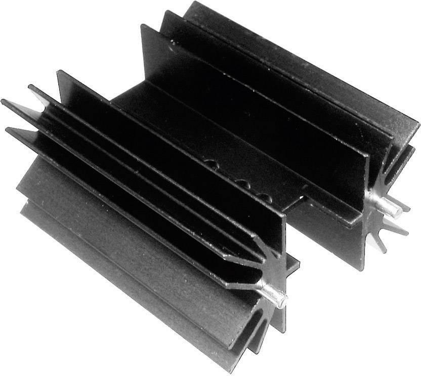 Lisovaný chladič TRU COMPONENTS TC-V8511W-203, 6.5 K/W, (d x š x v) 25.4 x 41.6 x 25 mm