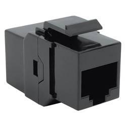 RJ45 sieťový adaptér Bachmann 940.112 CAT 6, [1x RJ45 zásvuka - 1x RJ45 zásvuka], čierna