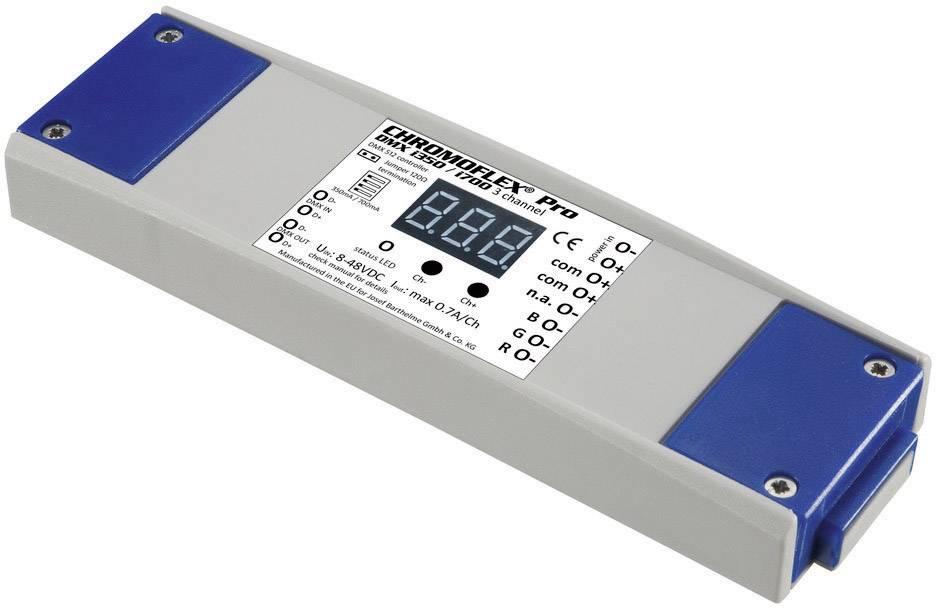 DMX stmívač Barthelme CHROMOFLEX® Pro i350/i700 3 kanály/výstup, 350/700 mA