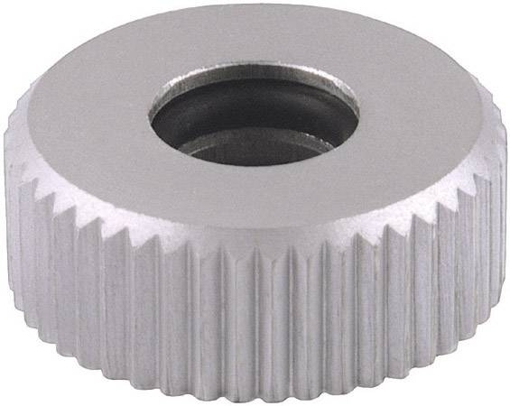 Rýhovaná matice Mentor 6600.0402, stříbrná