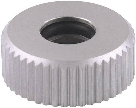 Rýhovaná matice Mentor 6601.0403, stříbrná