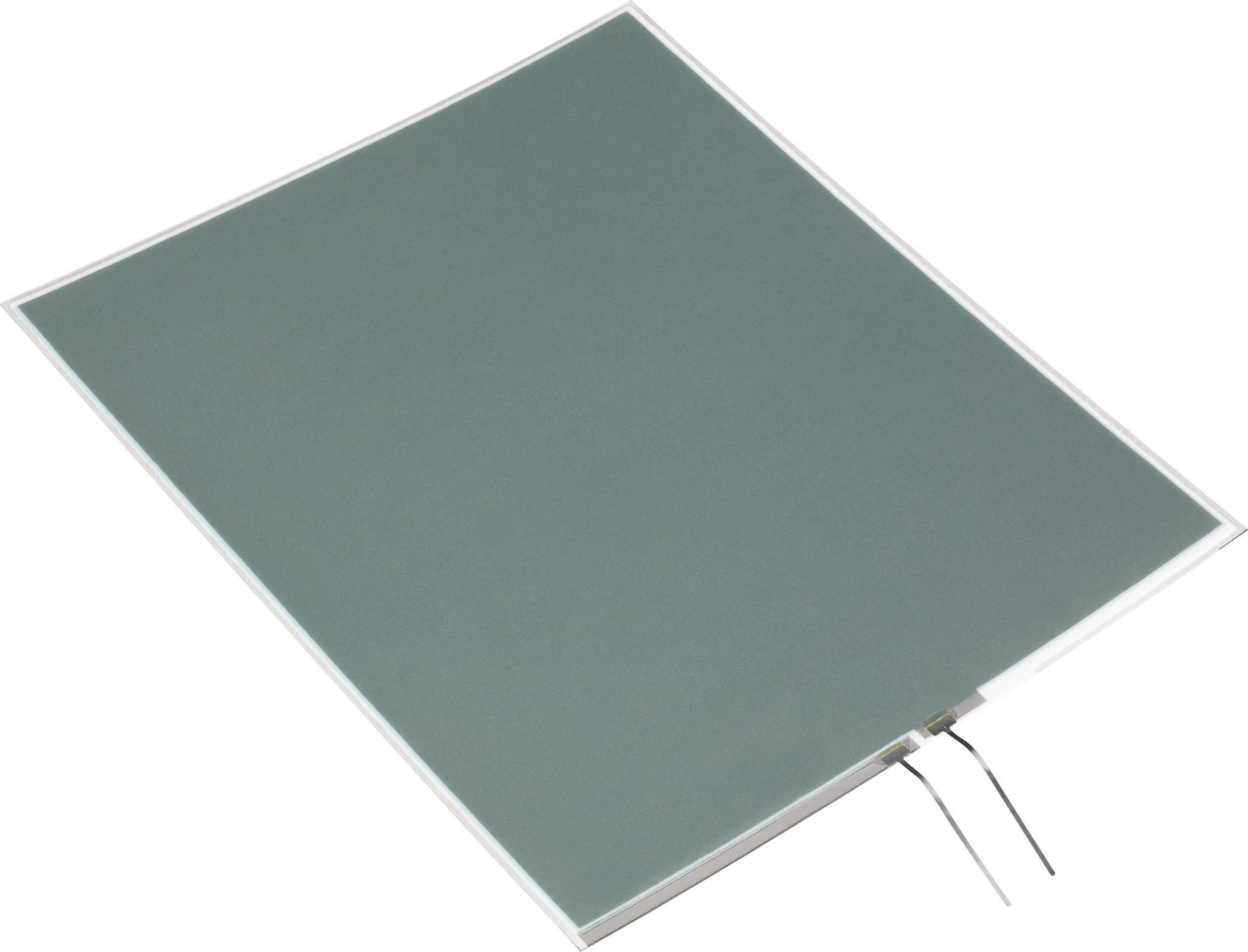 Elektroluminiscenční světelná fólie 138x34 mm - modrá