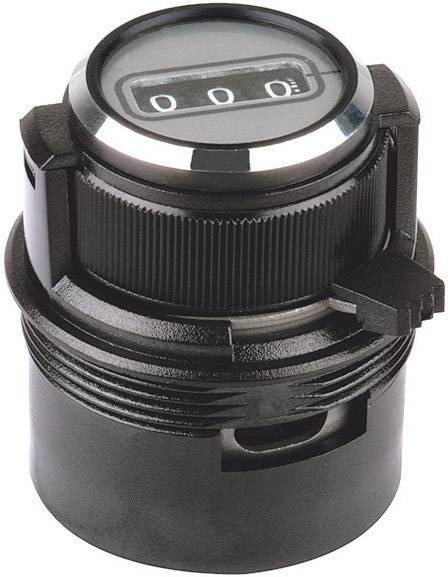 Otočný gombík Mentor 6622.1001, čierna, 1 ks