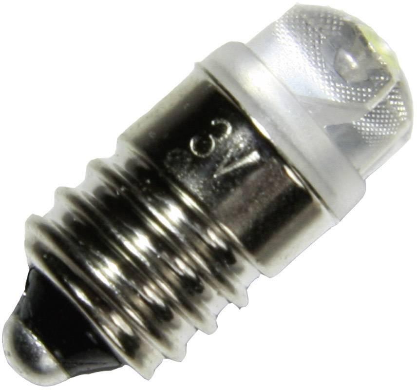LED žiarovka pre vreckové svietidlá Kash 184051, 3 V/DC, 0.12 W, Druh pätice E10, číra