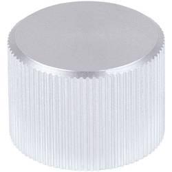 Kovový knoflík Mentor 505.61, 6 mm, matně stříbrná