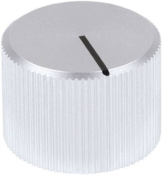 Otočný gombík Mentor 508.61, (Ø x v) 24 mm x 15 mm, hliník, 1 ks