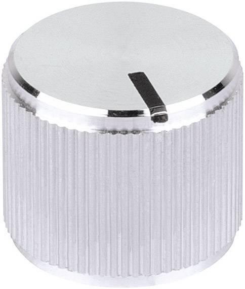 Otočný gombík Mentor 5551.6612, (Ø x v) 12 mm x 14 mm, hliník, 1 ks