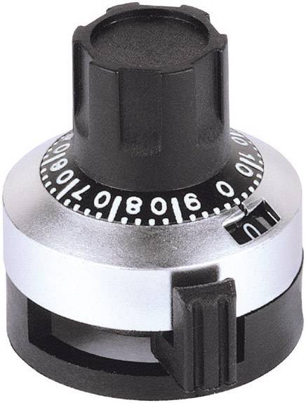 Analogový otočný knoflík Mentor 6623.1000, 6,35 mm, matný chrom