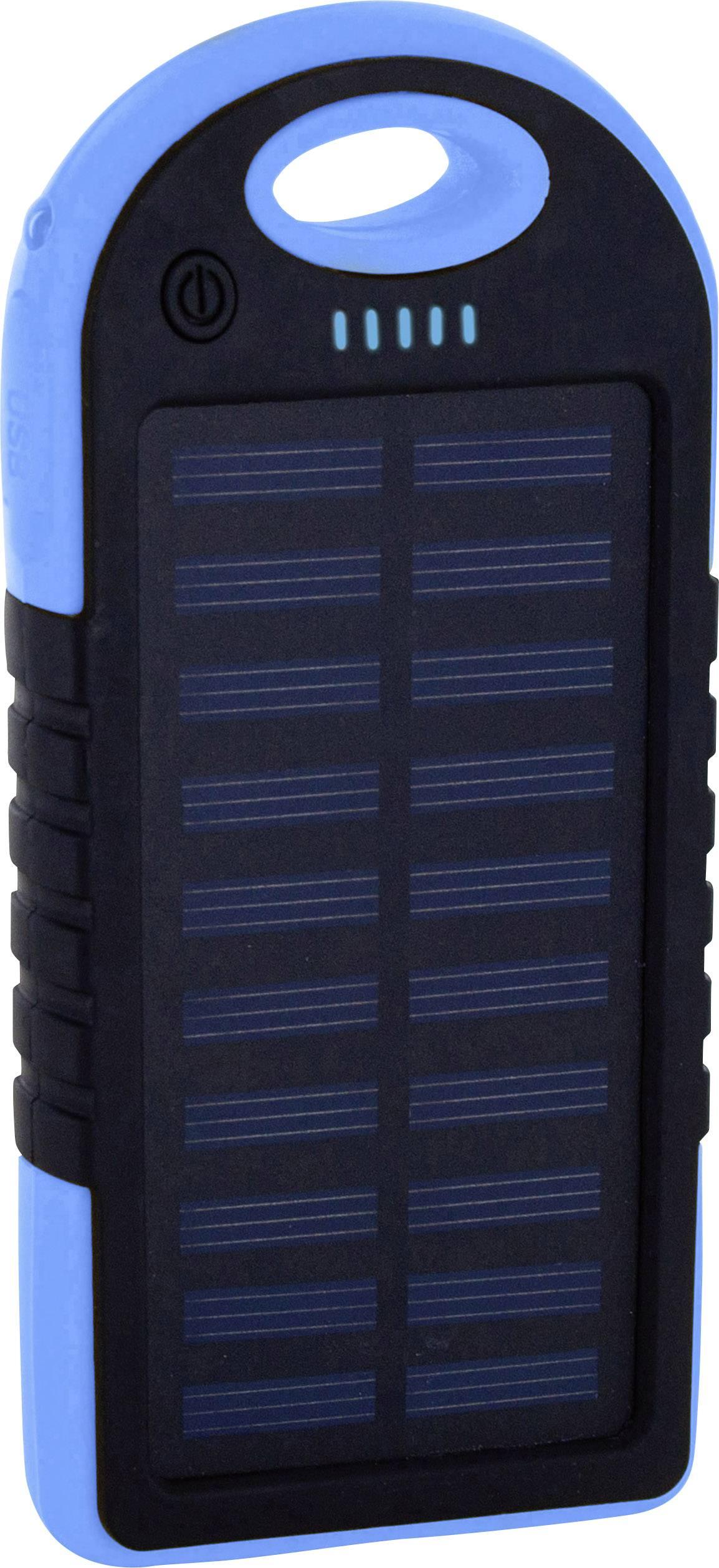 Solárna nabíjačka Xlayer Powerbank Plus 215897, 4000 mAh