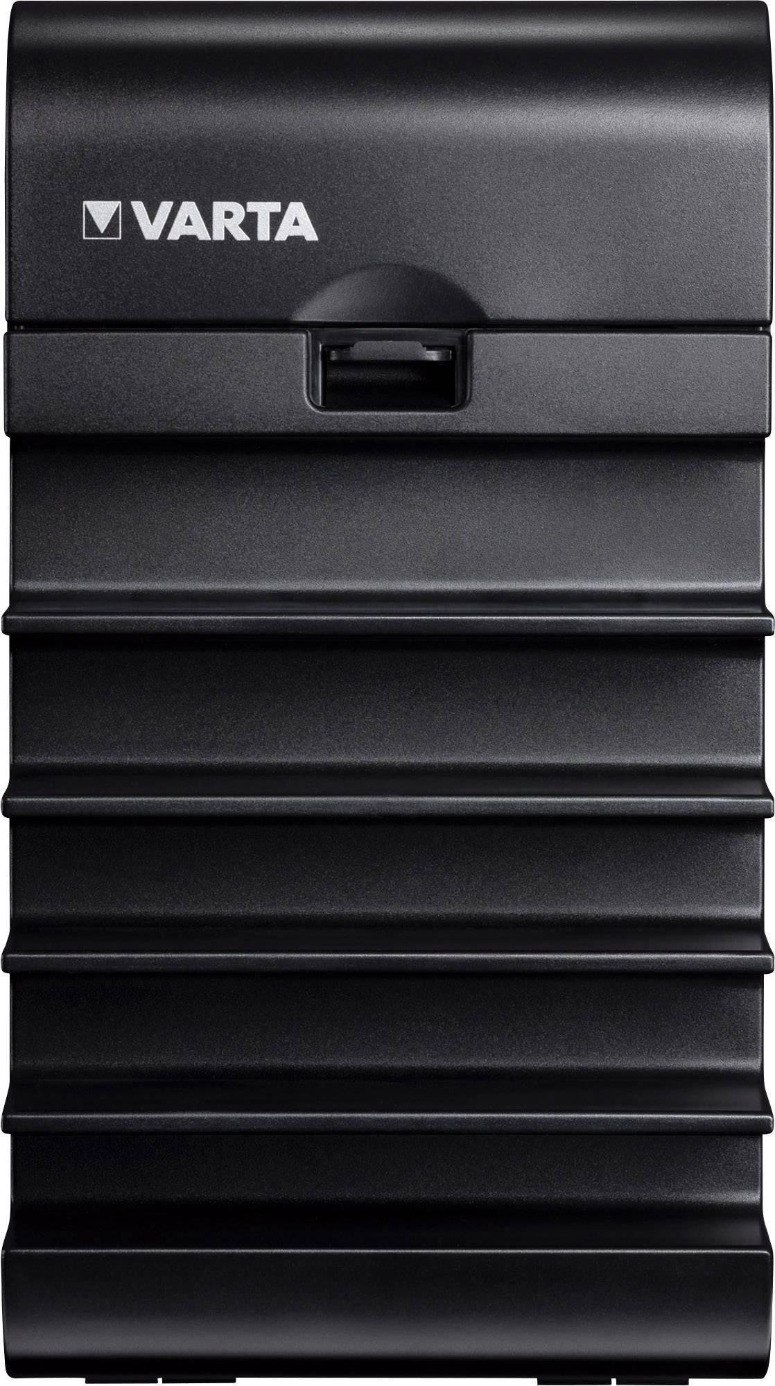 USB nabíjecí stanice Varta 57901101111, 9800 mA, černá