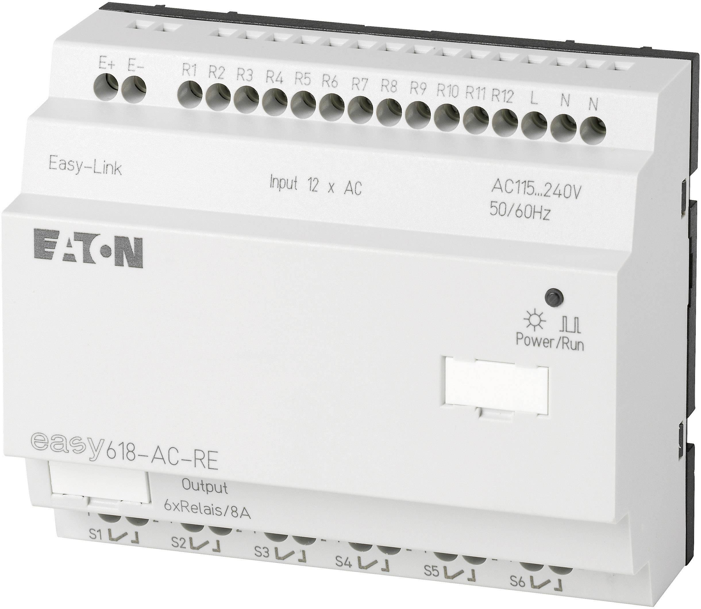 Riadiacimodul Eaton easy 618-AC-RE 212314, 115 V/AC, 230 V/AC