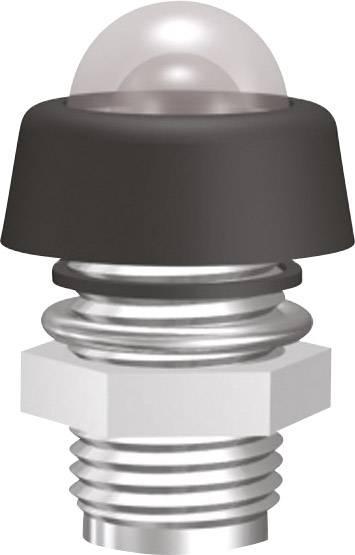 Pochromovaná objímka diody LED, vodotěsná