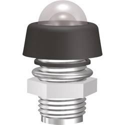 Pochromovaná objímka diody LED Signal Construct SMK1089, vodotěsná, M8