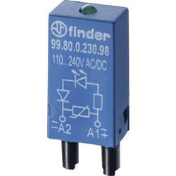 Zasouvací modul s diodou 1 ks Finder vhodné pro sérii: lokátor řada 94 , Finder řada 95, lokátor řada 97