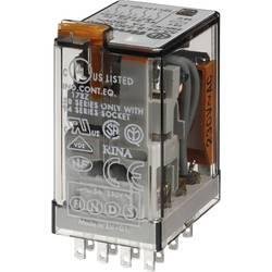 Finder 55.34.8.024.0050 zátěžové relé 24 V/AC 7 A 4 přepínací kontakty 1 ks