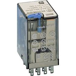 Finder 55.34.9.024.0090 zátěžové relé 24 V/DC 7 A 4 přepínací kontakty 1 ks