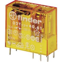 Finder 40.61.8.230.4000 relé do DPS 230 V/AC 16 A 1 přepínací kontakt 1 ks