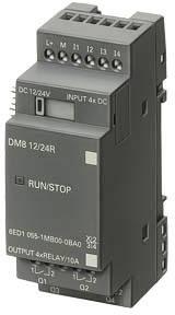 PLC rozširujúci modul Siemens LOGO! DM8 24 6ED1055-1CB00-0BA0, 24 V/DC