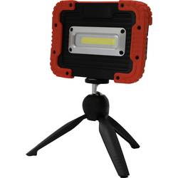 Akumulátorové LED pracovní osvětlení Megatron Helfa M MT69052, 10 W, černá, červená