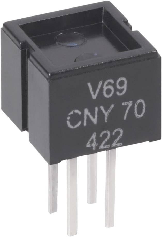 Reflexní optický snímač Vishay CNY 70, páj. kontakty, dosah 0,3 mm