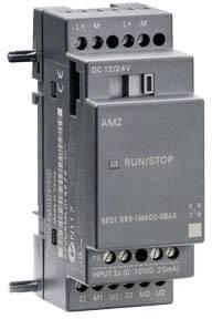 PLC rozširujúci modul Siemens LOGO! AM2 6ED1055-1MA00-0BA0, 12 V/DC, 24 V/DC