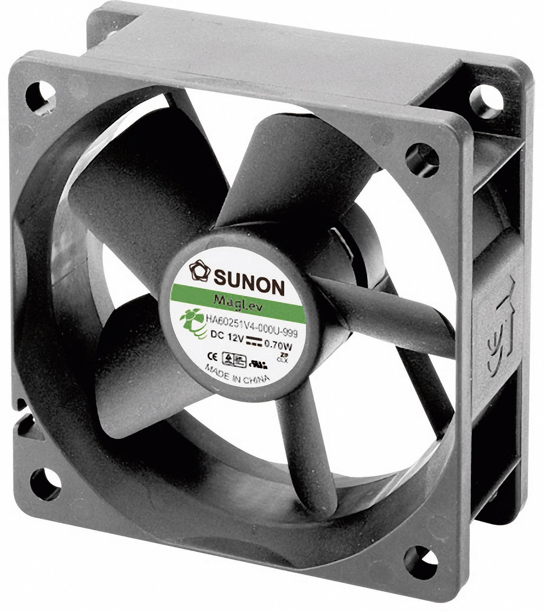 Ventilátor Sunon DR HA60151V4-0000-999, 60 x 60 x 15 mm, 12 V/DC