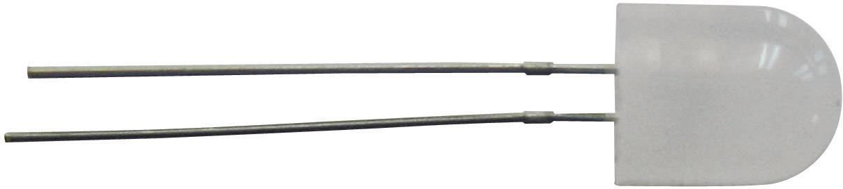 LEDsvývodmi TRU COMPONENTS guľatý, 8 mm, 360 °, 60 mA, 1.9 V, žltooranžová
