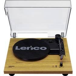 Gramofon Lenco LS-10, řemínkový pohon, dřevo