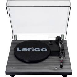 Gramofon Lenco LS-10, řemínkový pohon, černá