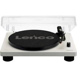 USB gramofon Lenco LS-50, řemínkový pohon, šedá