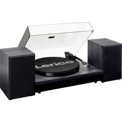 Gramofon Lenco LS-300, řemínkový pohon, černá