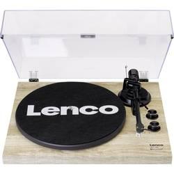 USB gramofon Lenco LBT-188, řemínkový pohon, borovicová