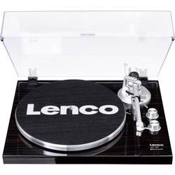 USB gramofon Lenco LBT-188, řemínkový pohon, vlašský ořech