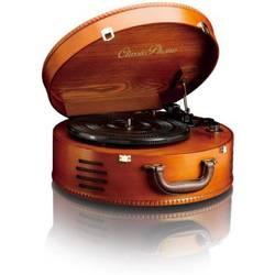 USB gramofon Lenco TT-34, řemínkový pohon, dřevo
