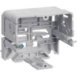Parapetní lišta montážní elektroinštalační krabice (d x š) 71 mm x 64 mm Hager GLT5010 1 ks šedobílá (RAL 7035)