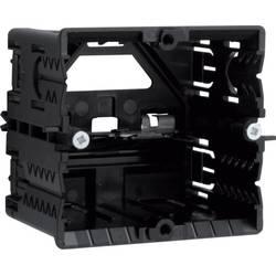 Parapetní lišta montážní elektroinštalační krabice (d x š) 71 mm x 65 mm Hager GLS5500 1 ks černá