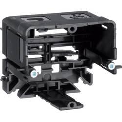 Parapetní lišta montážní elektroinštalační krabice (d x š) 71 mm x 64 mm Hager GLS5510 1 ks černá