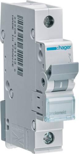 Elektrický jistič Hager MCN120, 1fázový, 20 A, 230 V, 400 V