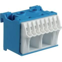 Svorkovnice Hager KN10N, HAGER KN10N modrý - bílá připojovací blok