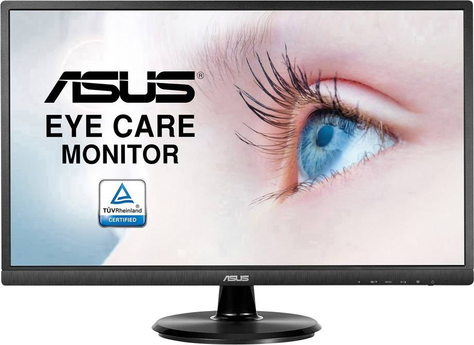 LCD monitor Asus VA249HE, 60.5 cm (23.8 palec),1920 x 1080 px 5 ms, VA LCD HDMI™, VGA