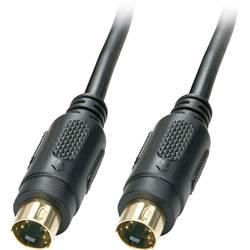S-video video kabel [1x S-Video zástrčka - 1x S-Video zástrčka] 10.00 m černá LINDY