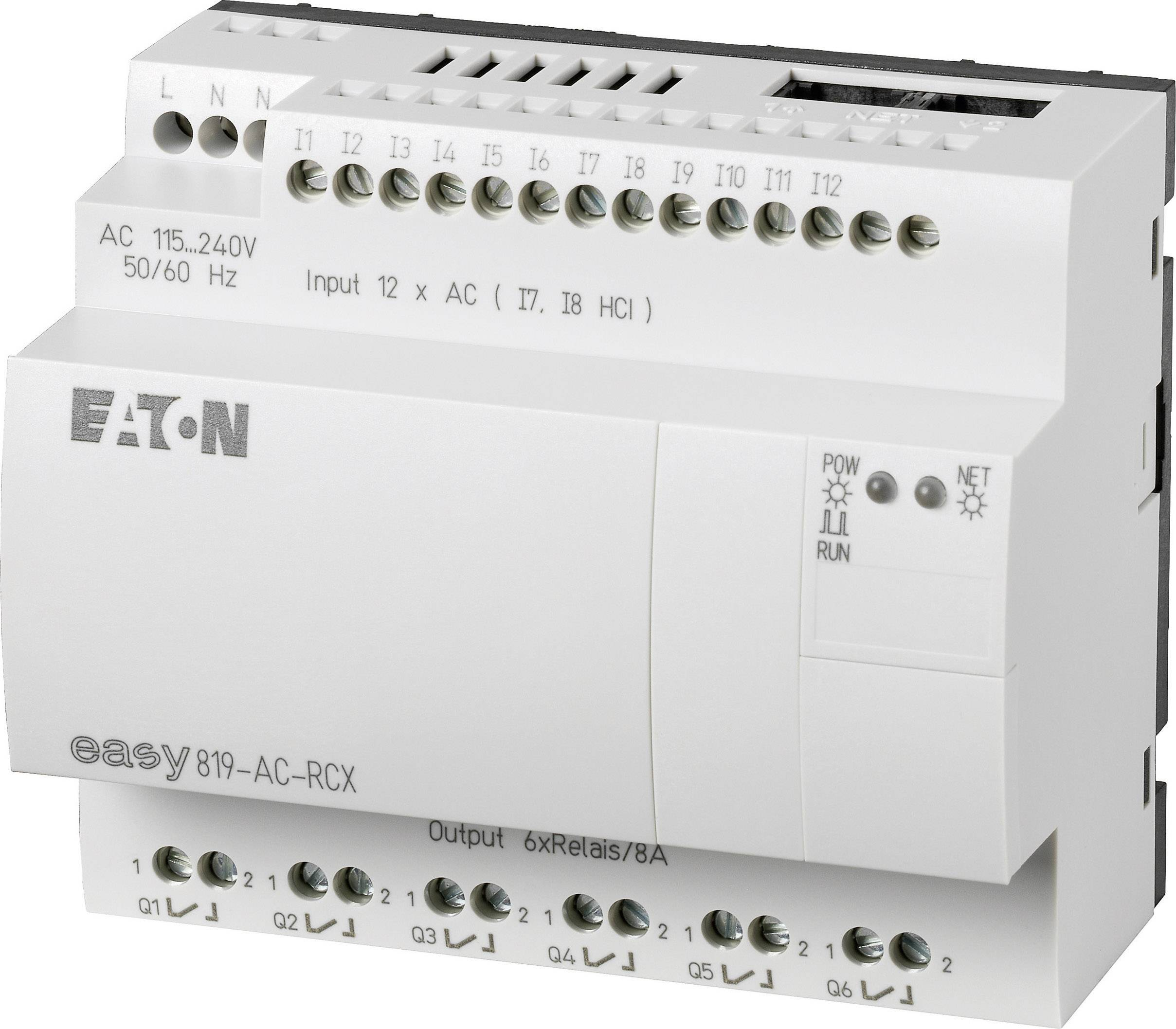 Riadiacimodul Eaton easy 819-AC-RCX 256268, 115 V/AC, 230 V/AC