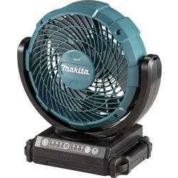 Akumulátorový podlahový ventilátor Makita (Ø x v) 180 mm x 284 mm, černá, tyrkysová