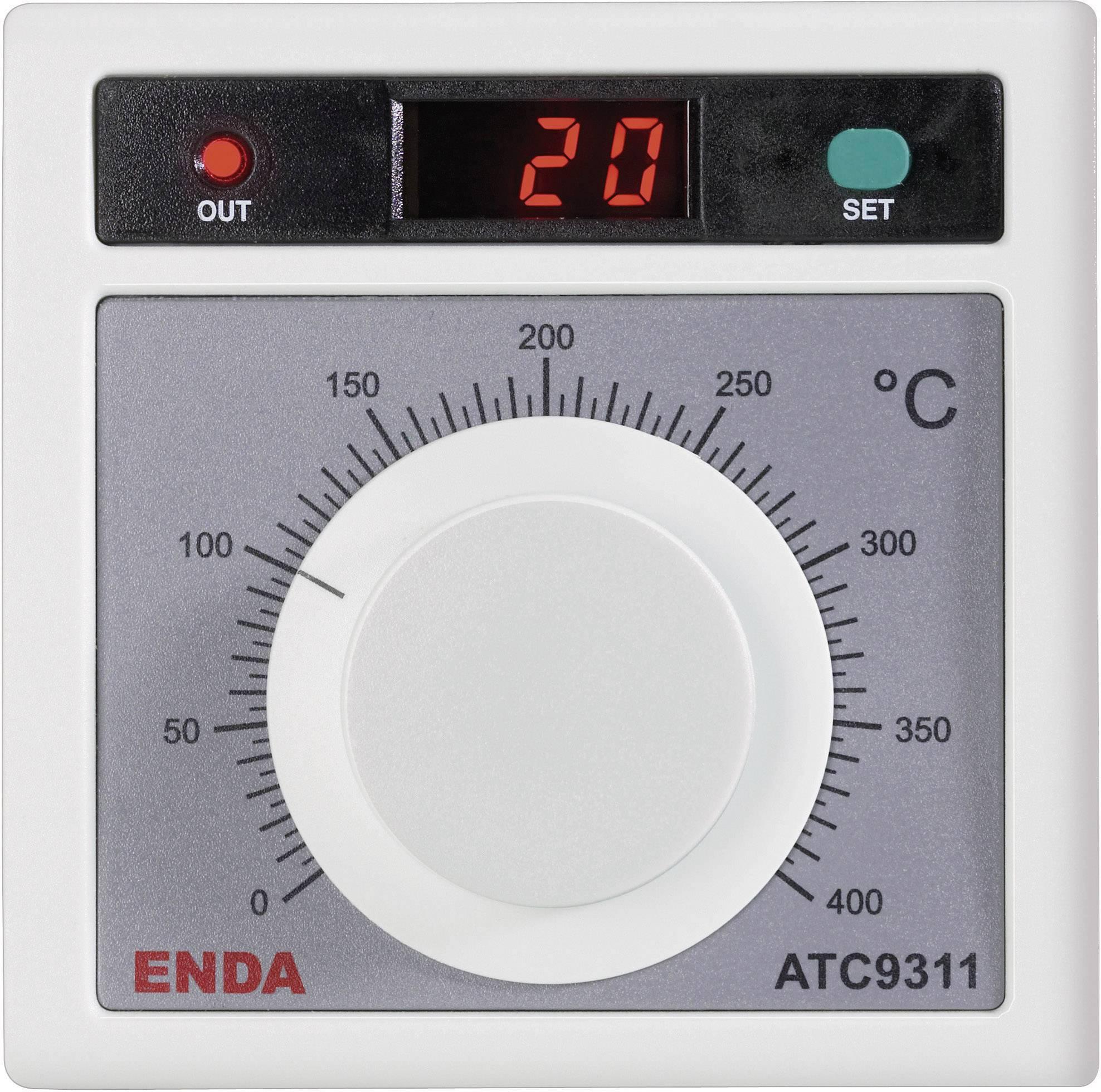Panelový termostat Suran Enda ATC9311-SSR, 230 V/AC, 90,5 x 90,5 mm