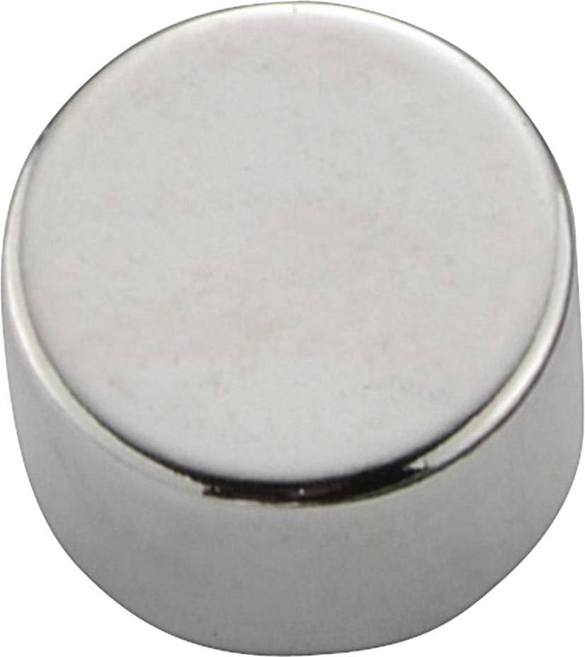 Permanentný magnet guľatý PIC-M0805, (Ø x d) 8 mm x 5 mm, N35