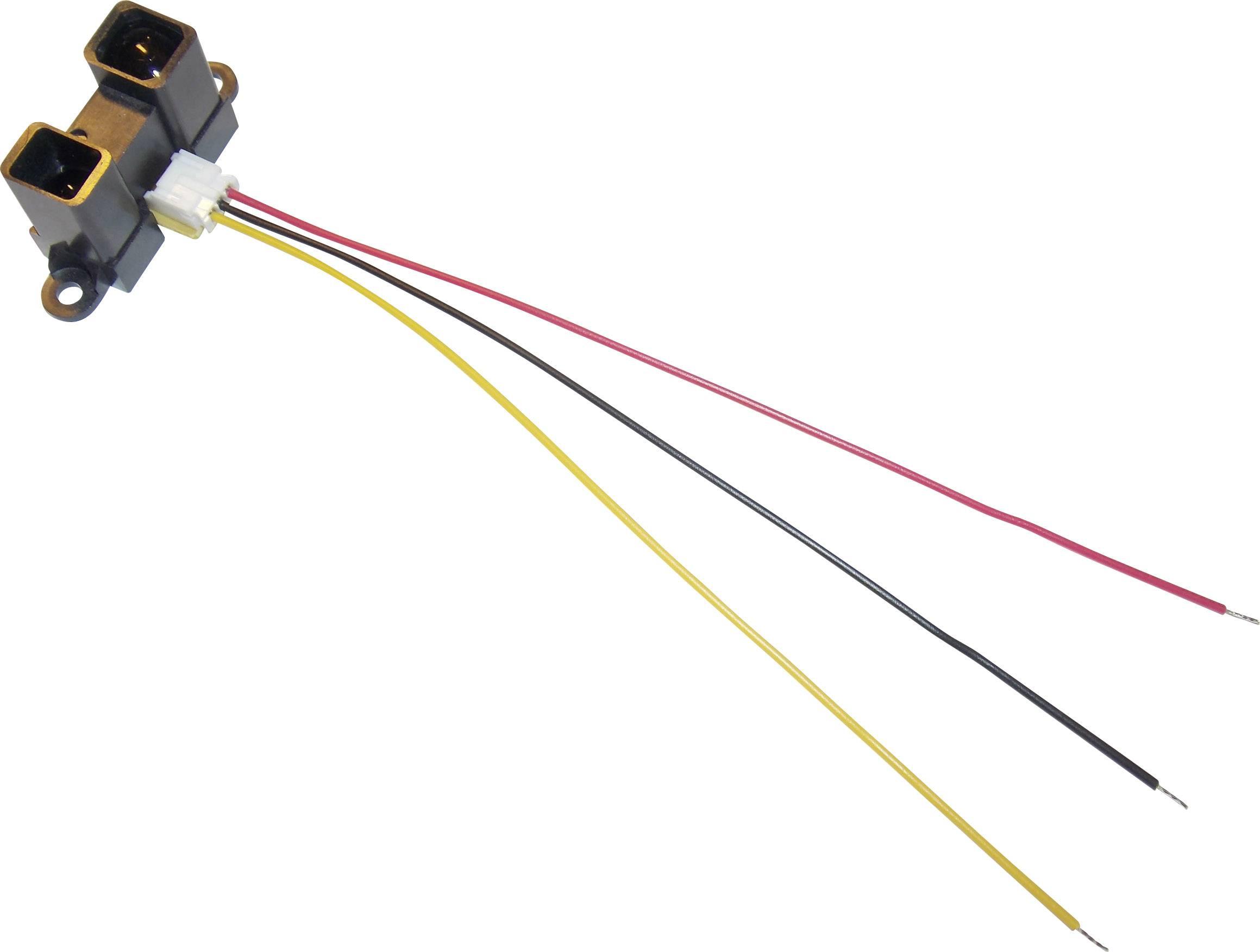 Senzor na meranie vzdialenosti Sharp GP2Y0D02YK, rozsah 20 - 150 cm, 5 V/DC