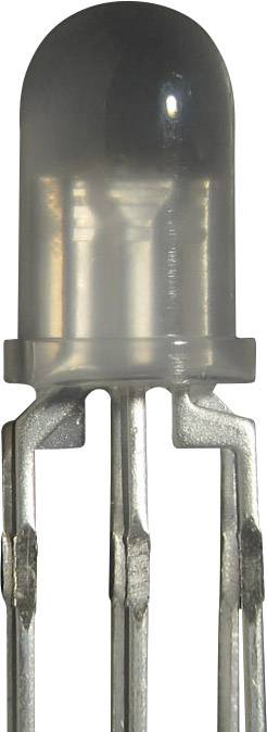LED dioda kulatá s vývody Kingbright LF 59 LF-5WAEMBGMBC, 20 mA, 5 mm, 1,7 V, 30 °, 40 mcd