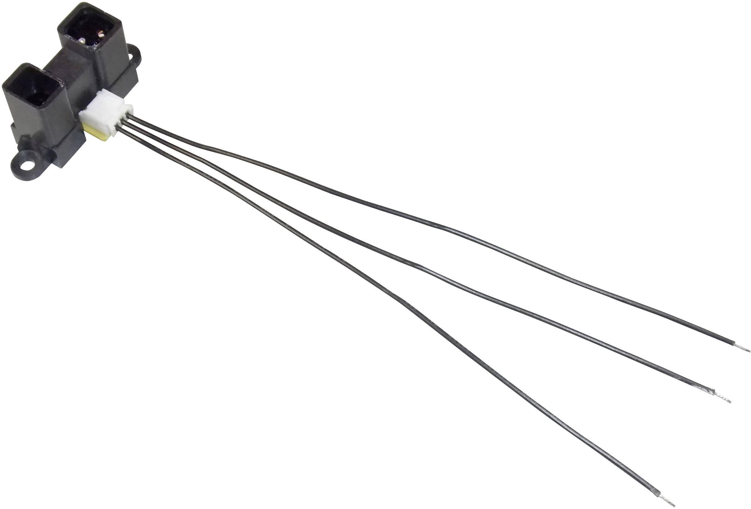Senzor pro měření vzdálenosti Sharp GP2Y0A02YK, rozsah 20 až 150 cm, 5 V/DC